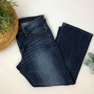 Lucky Brand Womens Easy Rider Crop Jeans Size 8/29